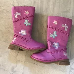 Other - Toddler girl riding boot style pink boots